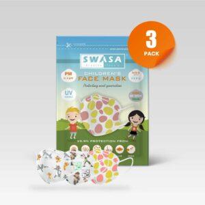 SWASA Childrens 3 Pack